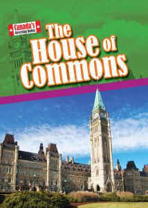 Canada's government -- The federal system -- The House of Commons -- History of the House of Commons -- Role of the House of Commons -- How a bill is passed -- The House of Commons' home -- Key positions in the House of Commons -- A day in the life -- Important moments -- Significant members of the House of Commons -- Issues facing the House of Commons -- Know your House of Commons. Gr.4-6