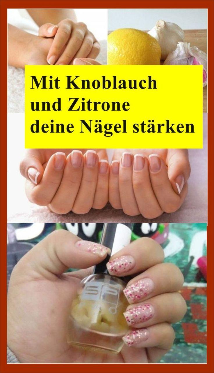 Mit Knoblauch und Zitrone deine Nägel stärken | njuskam!