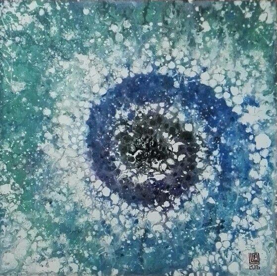 Astratto fluido n. 10.2016 #abstract #art #fluid #paint #acrylic