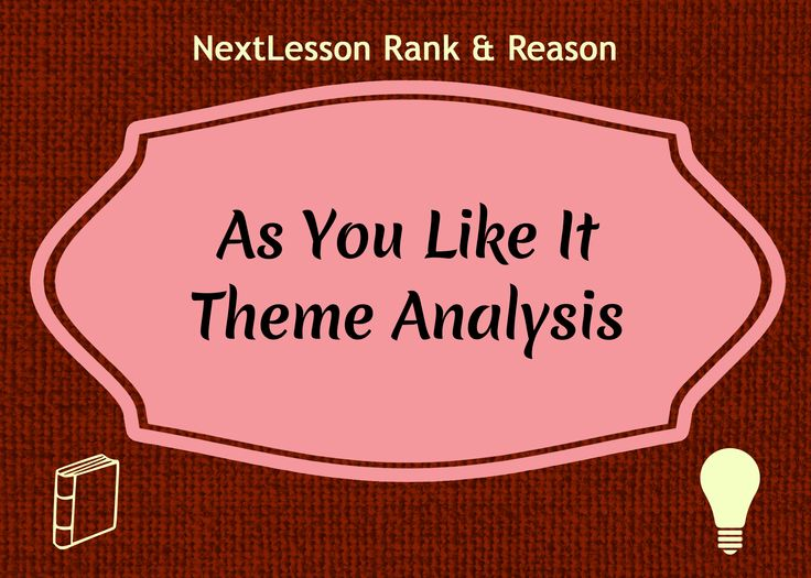 Analyze the themes in Shakespeare's As You Like It with this lesson plan including resources