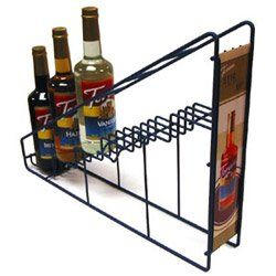 Pronto Products 6-Bottle Toriani Wire Rack (03-0664) Category: Drink Syrups Pronto http://www.amazon.com/dp/B00125R5L4/ref=cm_sw_r_pi_dp_V3Dzvb1FYJKCG