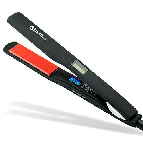 Fer à lisser Apalus en fibre de verre Protège et hydrate vos cheveux / Solution professionelle pour un lissage simple et rapide