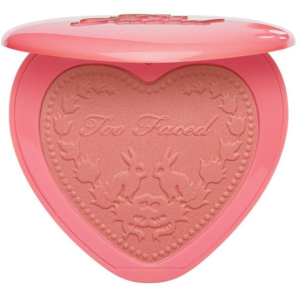 Love Flush Blush Too Faced ($28) ❤ liked on Polyvore featuring beauty products, makeup, cheek makeup, blush and too faced cosmetics