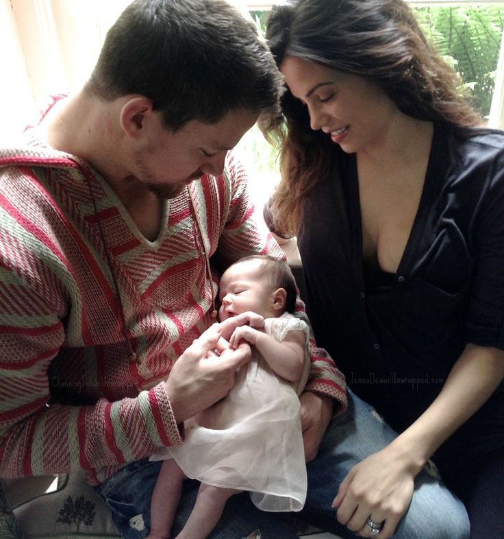 Channing Tatum and Jenna Dewan-Tatum Debut First Photo of Daughter Everly!