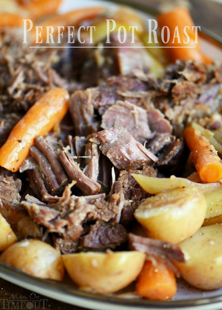 Look no further for the PERFECT POT ROAST and GRAVY recipe! Falling apart tender, extra flavorful, melt in your mouth good! And did I mention easy? So good!
