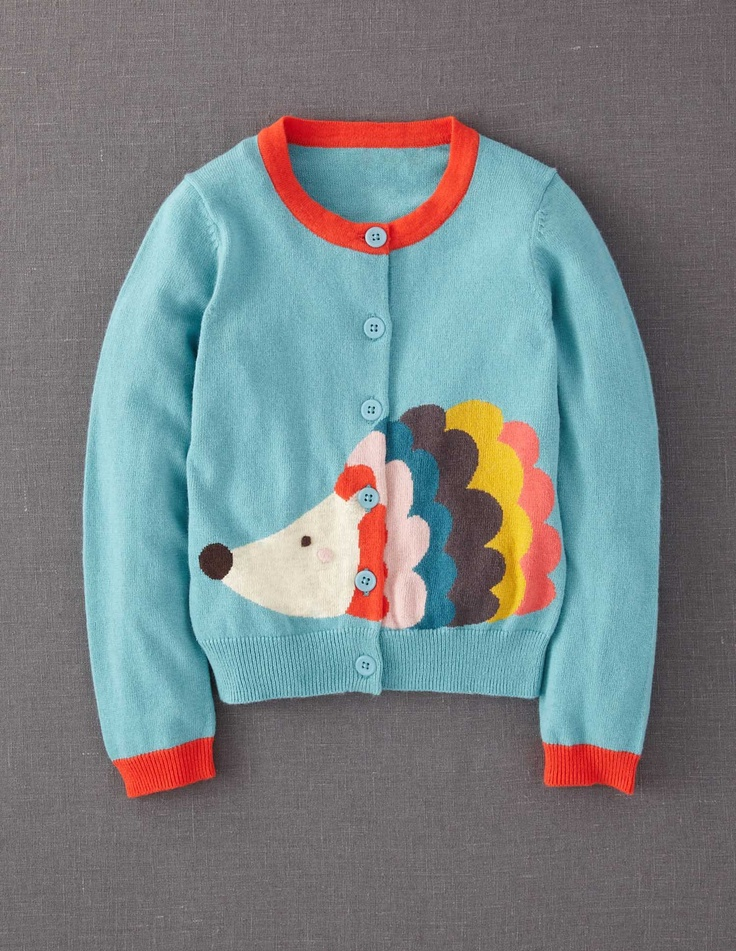 Fun Cardigan 31609 Knitwear at Boden  Wish they did this to fit me!  #Boden #MagicalMenagerie
