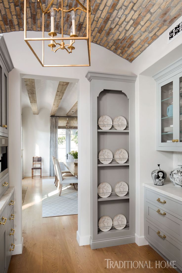 French Style Inspires A Modern Kitchen In 2020 Traditional Decor Traditional House French Oak Flooring