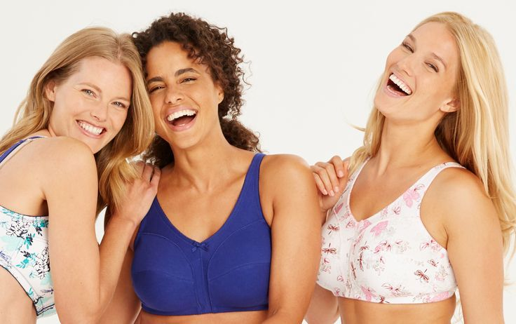 Spring is all about cool colors, sweet prints & lots of comfort & support!  Full Figure Lingerie from Woman Within.
