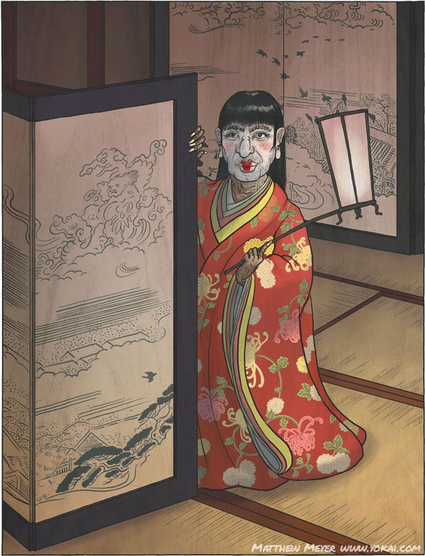 Today's yokai comes by request again. This one is another truly, truly bizarre one. It cracks me up, it really does. There's little else I can say about it. It is so bizarre, and so out there, and ...
