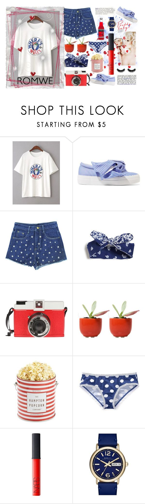 """""""pretty baby"""" by imnotyourstyle on Polyvore featuring moda, Joshua's, Edition, Dot & Bo, The Hampton Popcorn Company, Victoria's Secret, NARS Cosmetics y Marc by Marc Jacobs"""