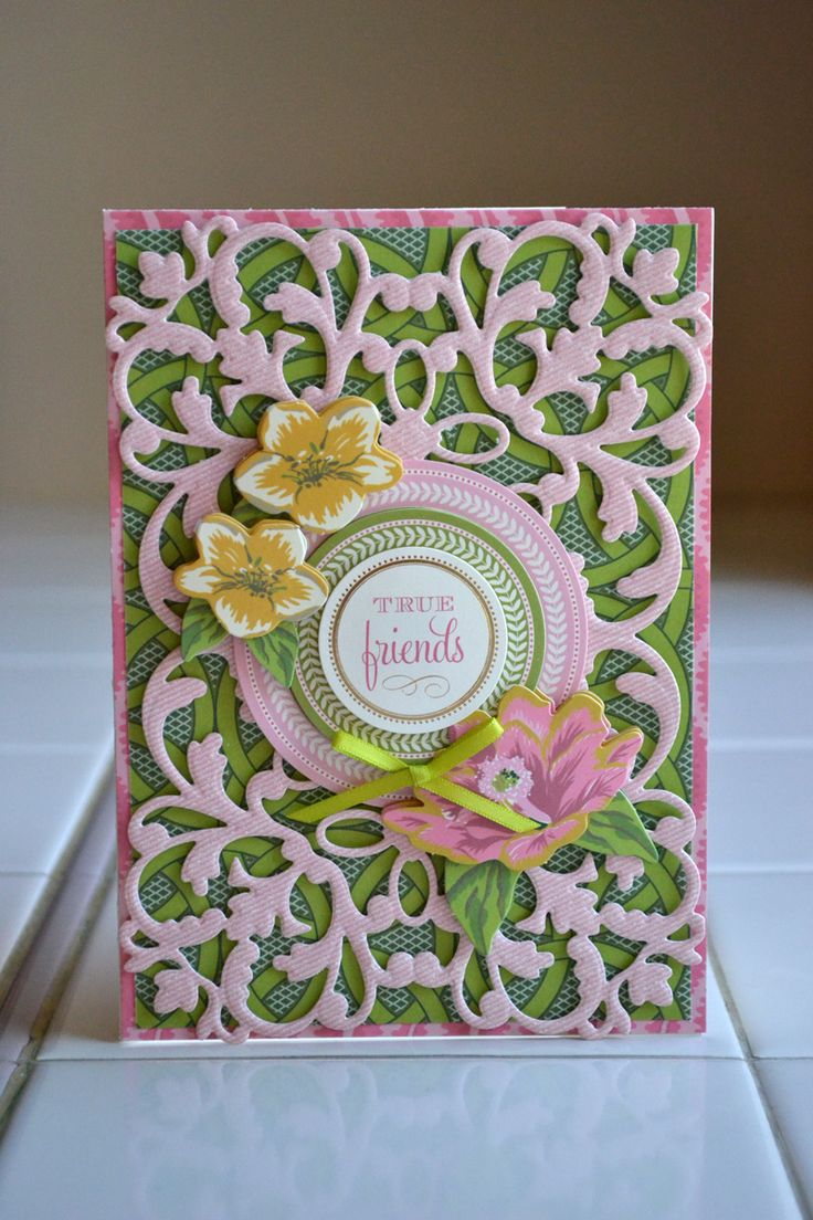 Card Making Ideas Using Cuttlebug Part - 26: Amy Has This Die - Aly Dosdall: Anna Griffin Cutting Dies: Cards