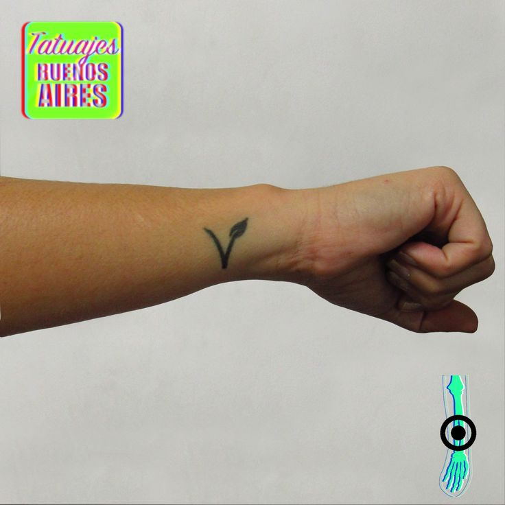 Tattoo Vegano! realizado por Jose Luis Segura en Tatuajes Buenos Aires Argentina  Pagina web www.tatuajesbuenosaires.com Whatsapp + 54 9 11 5882-5558   #tatuajes #vegan #vegetariano #vegetales #v #letra #mujer #brazo #muñeca