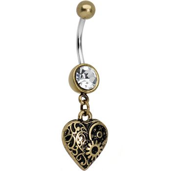 Vintage - Antique Belly Rings | Body Candy Body Jewelry