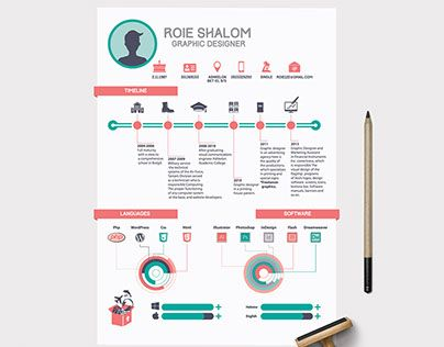 11 best Resume images on Pinterest Resume design, Resume and - infographic resume