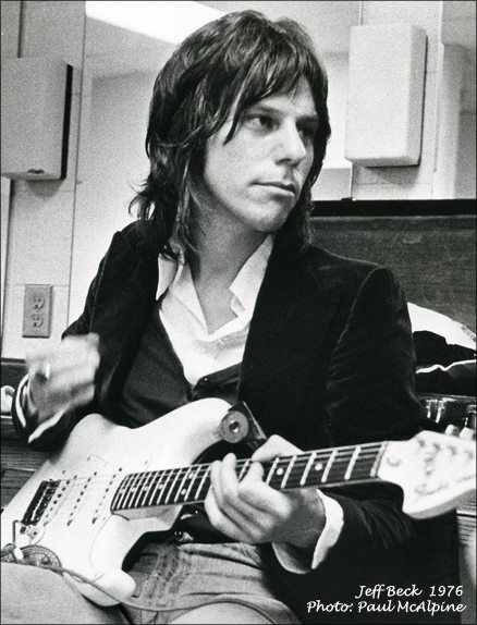 Jeff Beck Photo: Paul McAlpine