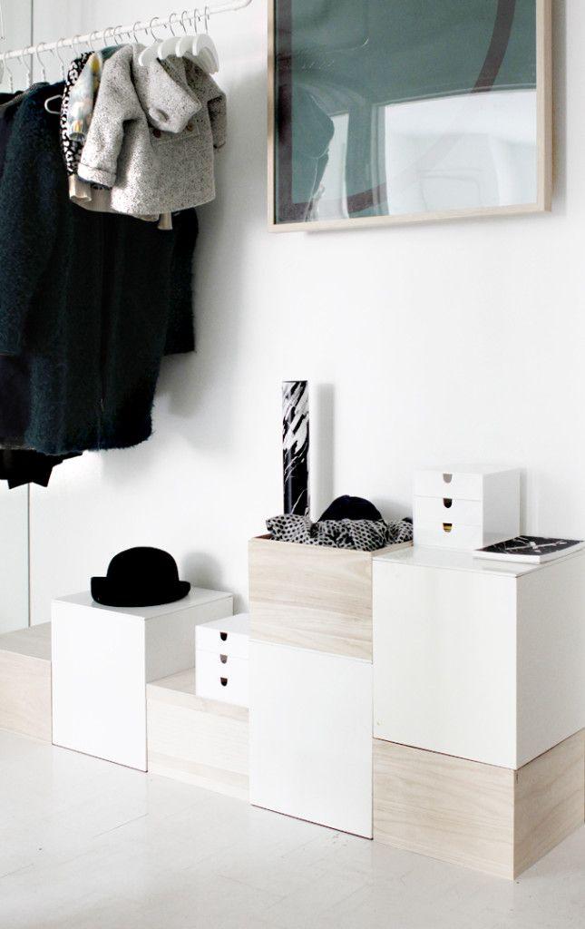 Storage boxes. From Finnish blof Varpunen.