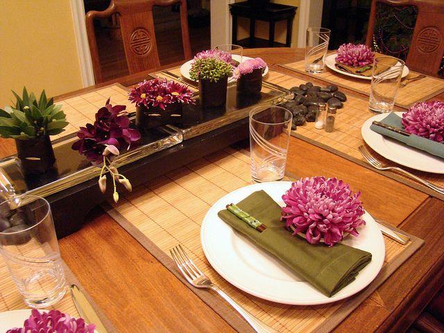DSC07227 Japanese dinner table setting | by godutchbaby