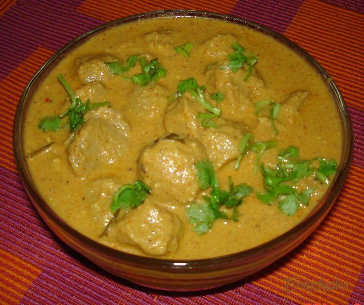 Pakashastra: Soya Chunks Curry
