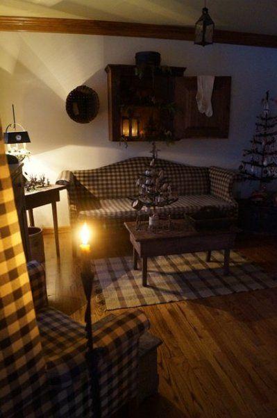 Primitive Living Room Decor: 100 Best Images About Primitive Living Rooms On Pinterest