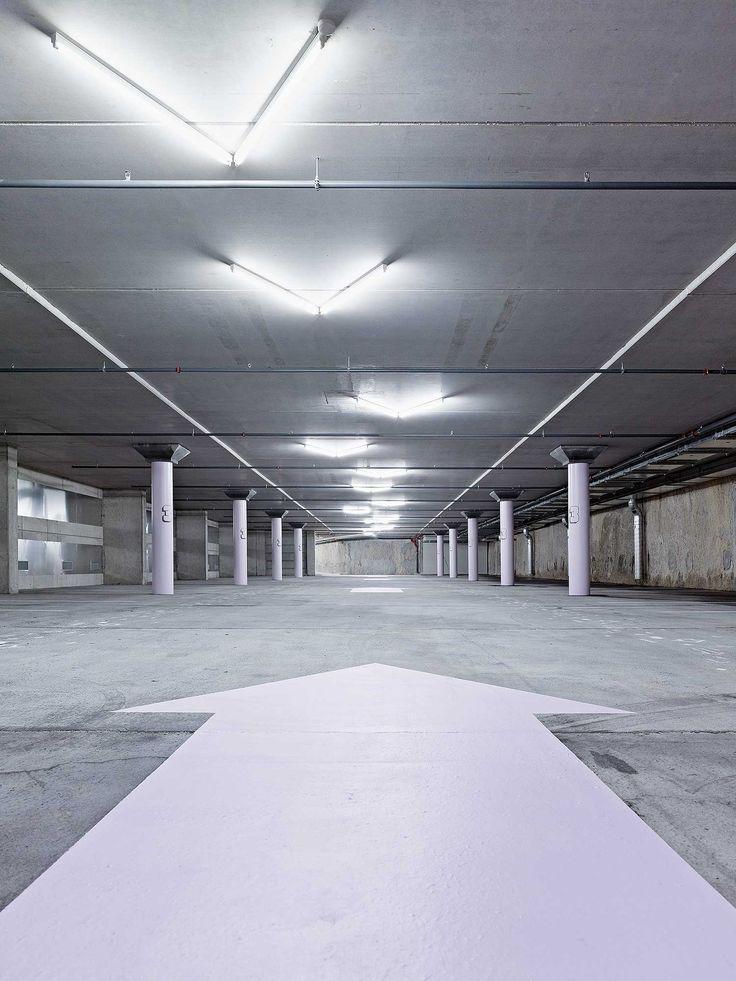superbüro | Grafik Design Studio | Biel/Bienne | Work | wayfinding (Signaletik)  | Parking Obere Schüsspromenade Biel/Bienne