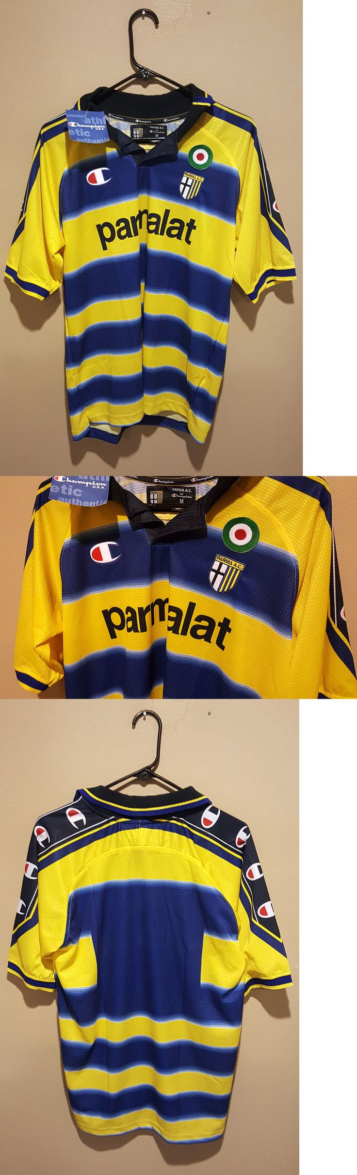 Soccer-International Clubs 2887: Rare And New Parma Fc Home Kit 99 00 - [Medium] -> BUY IT NOW ONLY: $80 on eBay!