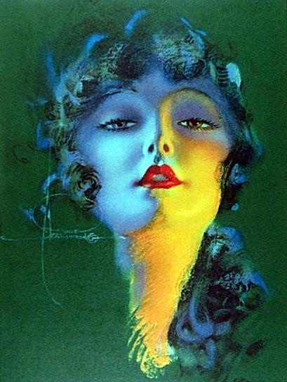 ~Rolf Armstrong ~* (Apr 21,1889 – Feb 22, 1960) American painter of pin-up art. http://www.webspawner.com/users/elegantmemories/