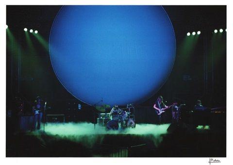 Pink Floyd, Concert au Palais des sports de Saint-Ouen , 1972