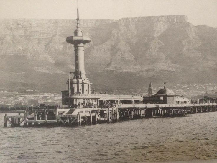 A photo I took of an old photograph of Cape Town circa 1915. Unsure of original photographer.