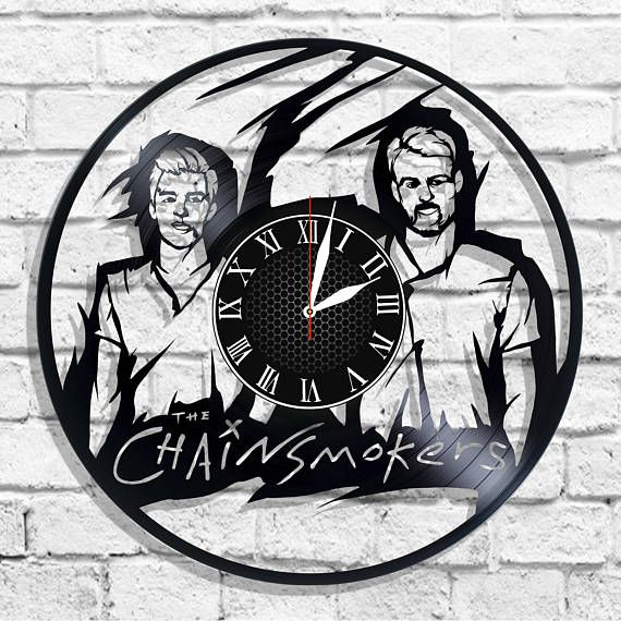 The Chainsmokers band design wall clock The Chainsmokers wall