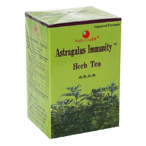 Health King  Astragalus Immunity Herb Tea, Teabags, 20-Count Box (Pack of 4) by Health King. $22.40. Antioxidant, energy, defer aging, detoxify, biological balance. 100% Natural. Flavored with jasmine flower, this herb tea is made of wild astragalus from the pollution-free area of northeast China with other precious herbs. Astragalus contains polysacchar