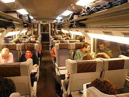 Eurostar A Train Journey From Paris To London Aboard The