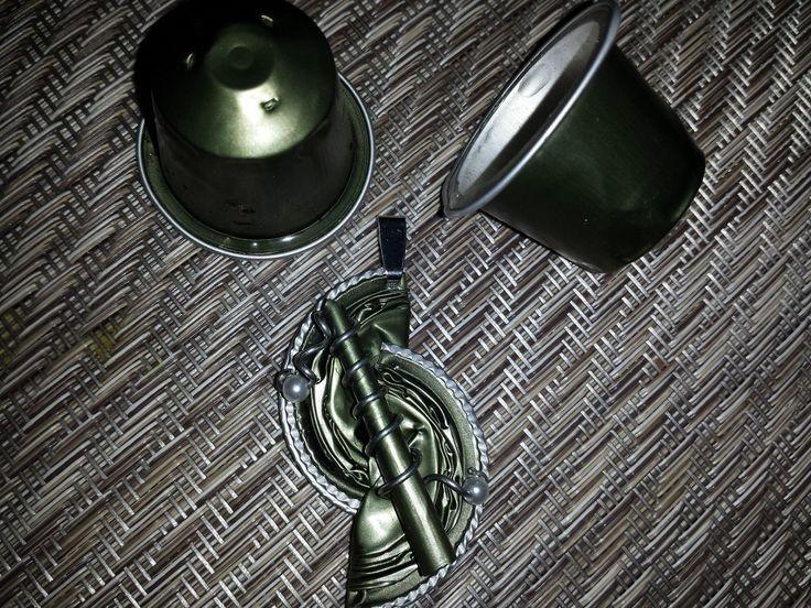 *Nespresso-Kapseln* Schmuck*Halskette*Anhänger* | eBay
