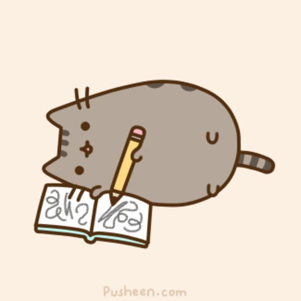 Image result for writing anime cats