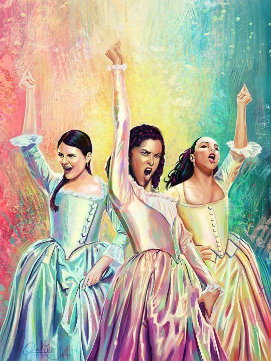 Schuyler Sisters // WORK!!