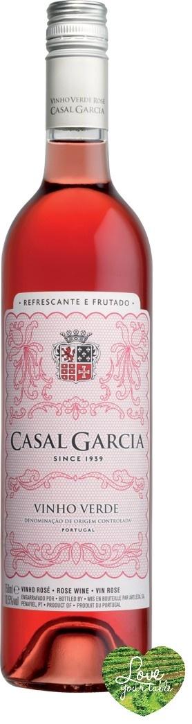 Love Your Table - Casal Garcia Rose Rose Wine, €7,99 (http://www.loveyourtable.com/casal-garcia-rose-rose-wine/)