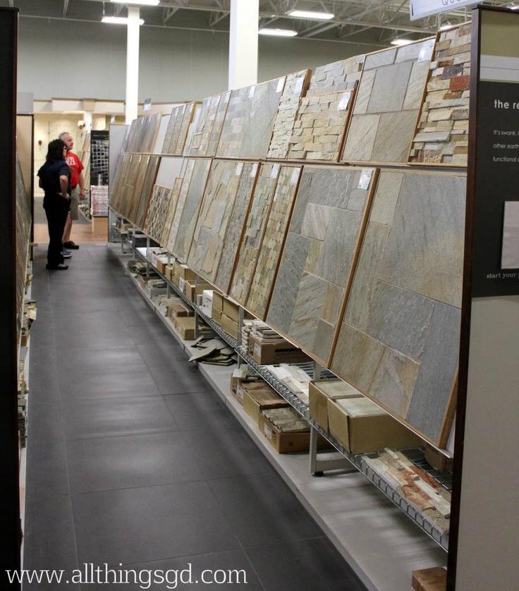 Slate tile displays at The Tile Shop #tileshop | All Things G&D ...