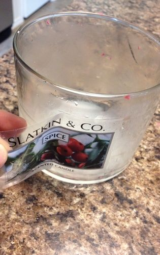 How to remove candle wax from candle jars for reuse