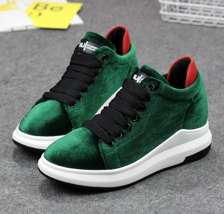 Women Velvet Shoes 2017 Autumn/Spring High Quality Causal Shoes Female Brands Design lightweight Breathable Trainers Shoes