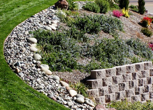 48 best images about landscaping steep slopes on pinterest for Landscaping rocks on a hill
