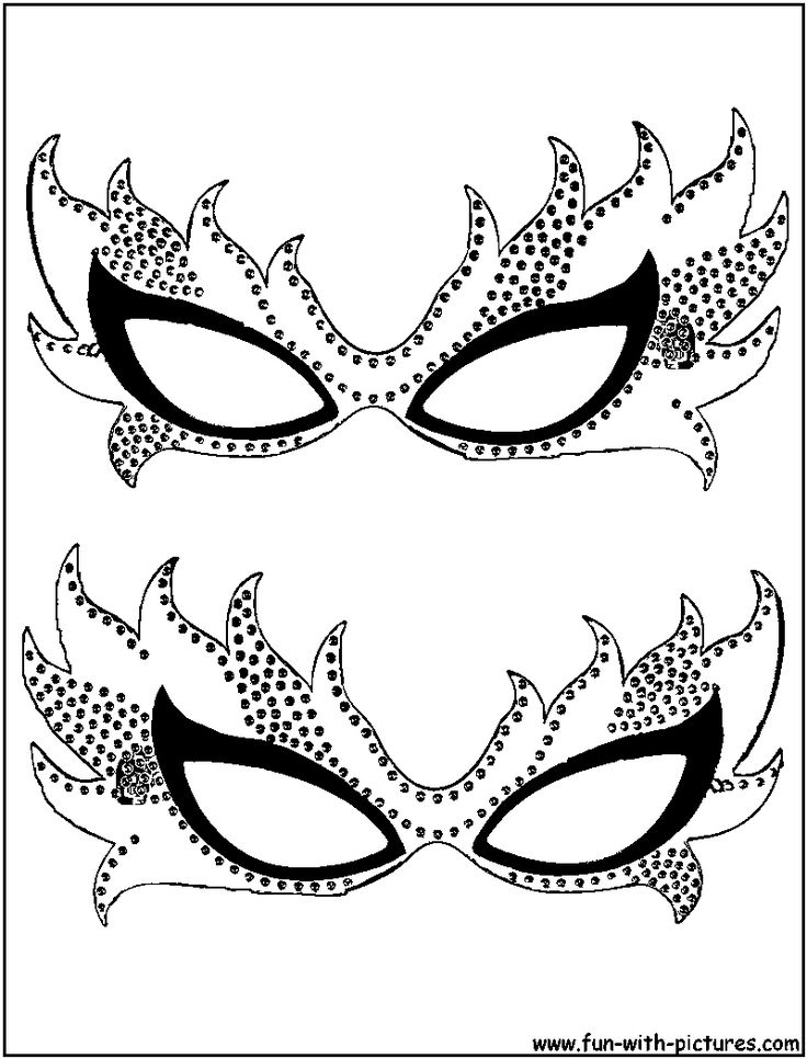 """iColor """"Masks"""" These would be fun to glitter up and glue sequins etc on them."""