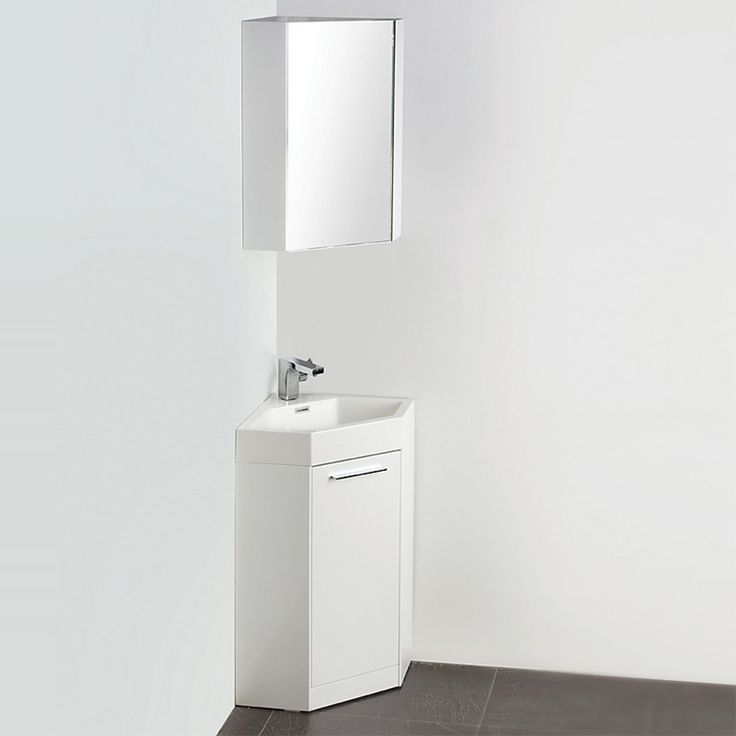 Photo Album Website Fresca Coda White Modern Corner Bathroom Vanity