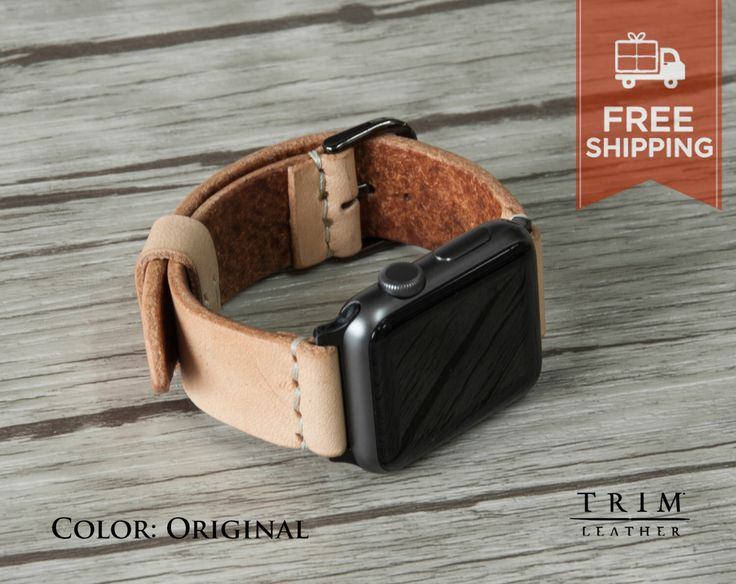 Apple Watch Band orologio cinturino pelle Minimal in originale vegetale naturale abbronzato serie 1 2 colore [a mano] [colori personalizzati] [spedizione gratuita] di TRIMleather su Etsy https://www.etsy.com/it/listing/472399345/apple-watch-band-orologio-cinturino