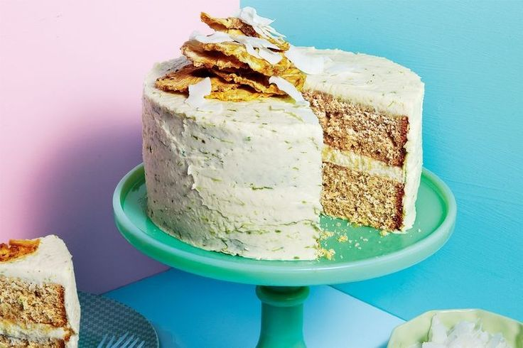 Impress your friends and family with delicious dessert by surprising them with this spicy coconut cake.