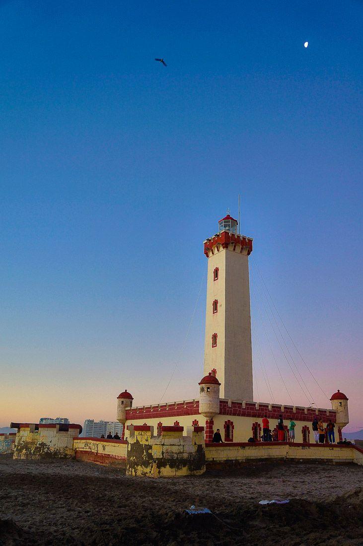 Lighthouse in La Serena, Chile