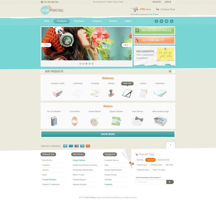 28 best clean Webdesign images on Pinterest | Website designs, Web ...