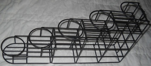5 Bottle Rack for coffee Syrup, black on Stainless 5001277 | eBay