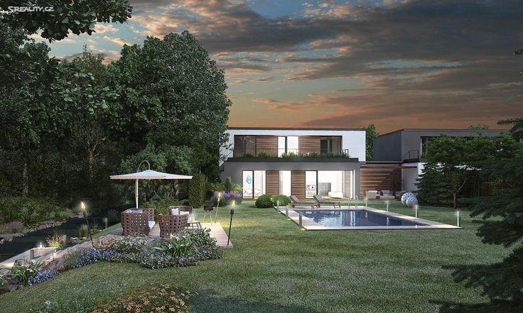Vila 343 m² k prodeji Hlubočepská, Praha 5 - Hlubočepy; 29999000 Kč, garáž, nízkoenergetický, patrový, cihlová stavba, novostavby.