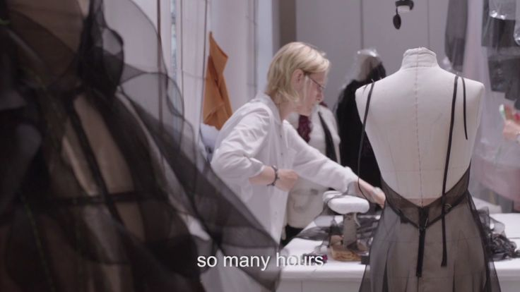 MAKING OF THE VALENTINO HAUTE COUTURE FALL/WINTER 2017-18 COLLECTION
