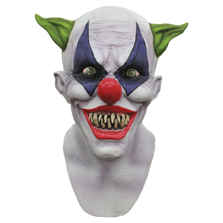 Creepy+Giggles+Clown+Mask+-+OrientalTrading.com