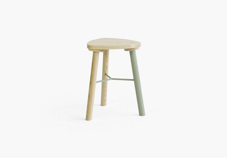 Milker stool | Yellow Diva furniture http://www.yellowdiva.com/products/milker/milker-stool/